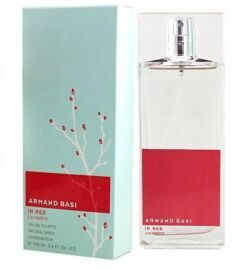 ARMAND BASI IN RED EAU FRAICHE FOR WOMEN EDT 100ML