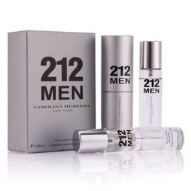 CH 212 FOR MEN EDT 3x20ml