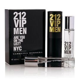 CH 212 VIP FOR MEN EDT 3x20ml