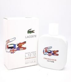 LACOSTE EAU DE L.12.12 ENERGIZED EDT, 100ML