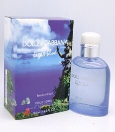 DOLCE & GABBANA LIGHT BLUE BEAUTY OF CAPRI FOR MEN EDT 125ML