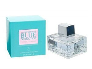 ANTONIO BANDERAS BLUE SEDUCTION FOR WOMEN EDT 100ML