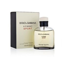 DOLCE & GABBANA HOMME SPORT FOR MEN EDT 125ML