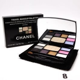 Chanel Travel Make-up тени+пудра №8