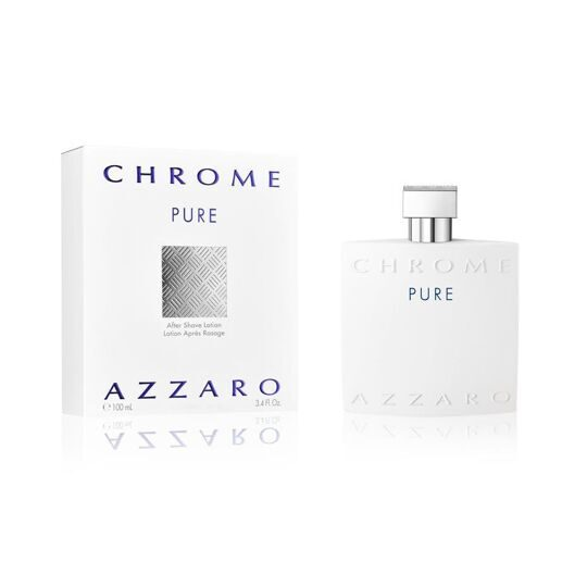 AZZARO CHROME PURE FOR MEN EDT100ML