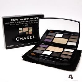 Chanel Travel Make-up тени+пудра №4