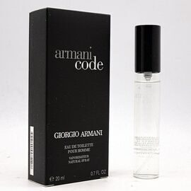 GIORGIO ARMANI CODE FOR MEN 20 ml (NEW)