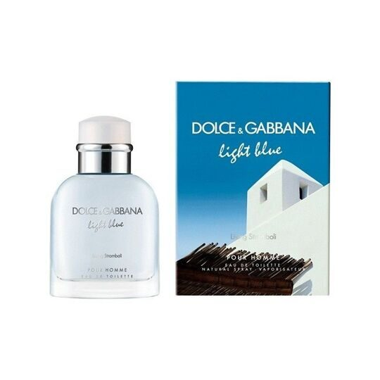 DOLCE & GABBANA LIGHT BLUE LIVING STROMBOLI FOR MEN EDT 125ML