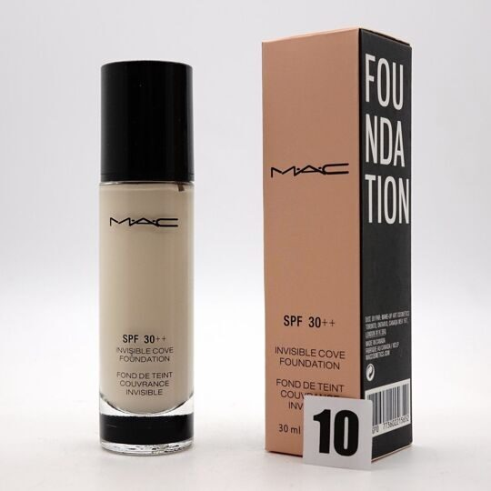 ТОНАЛЬНЫЙ КРЕМ  INVISIBLE COVE FOUNDATION 30 ML №10