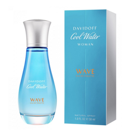 DAVIDOFF COOL WATER WAVE FOR WOM EDT 100ML